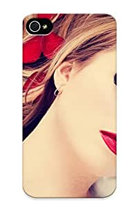 Protection Case For Iphone 4/4s / Case Cover For Christmas Day Gift(girl )