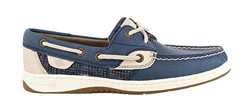 Boat Sperry Bluefish Top Sider Shoe Women's Oatmeal Navy nxZ47Sxw