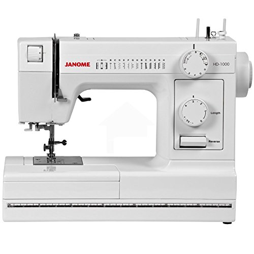 Janome HD1000 Heavy-Duty Sewing Machine with 14 Built-In - Sewing Bernina Machine 1008