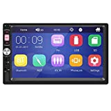 2 DIN Car Radio Player 7 Pulgadas HD Multimedia Cámara Universal MP5 MP4 Autoradio Bluetooth Audio Mirror Link, AA