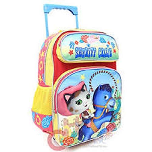 Large Rolling Backpack - Disney - Junior Sheriff Callie Wild West New 660437 B014PYCSJW