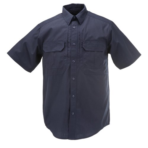 5.11 Tactical TacLite Pro Short Sleeve Tall Shirt, Dark Navy, Large by 5.11