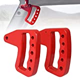 ICARS New Style Red Front Aluminum Grab Handles for