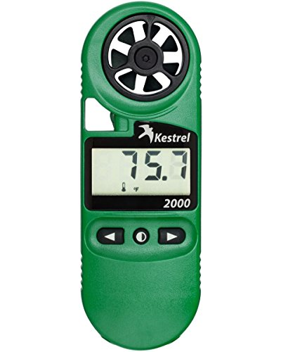 (Kestrel 2000 Pocket Wind  And Temperature Meter / Digital Thermo Anemometer)
