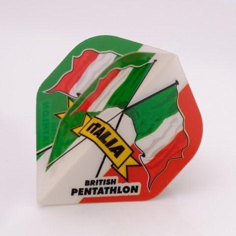 PENTATHLON Darts Flights Italien Standard