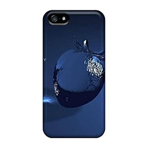 New Iphone 5/5s Case Cover Casing(black Berry Hd)