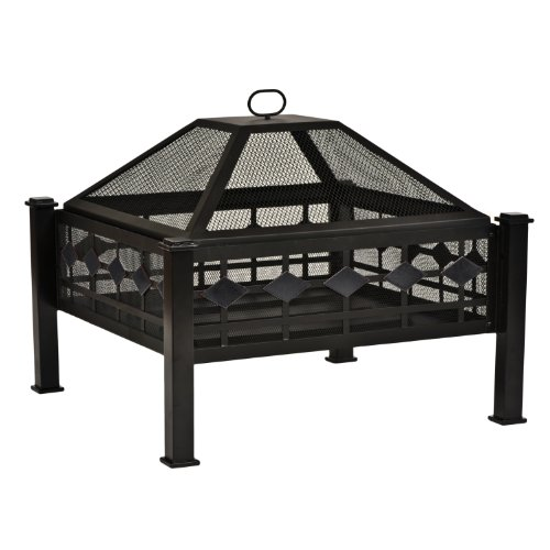 CobraCo Steel Mission Fire Pit FPSMISN-B