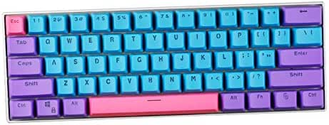 Doubleshot Pbt Keycaps Suitable for Cherry MX Switch,2 SSSLG 60/% Keycaps OEM Height PBT Material