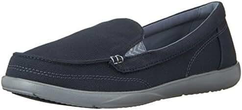 Crocs Womens Walu II Canvas Loafer