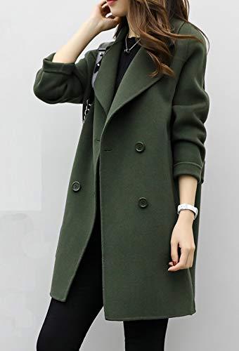 Trench Moda Parka Larga Jacket Coat Chaquetas Mujeres Ropa Solapa wqqYx8Z