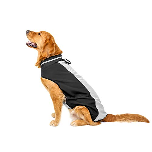 Big Dog Waterproof Laimeng_World Waterproof Pet Dog Puppy Vest Jacket Clothing Warm Winter Dogs Clothes Coat