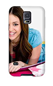 9199790K99638226 Special Design Back Miley Cyrus Book Phone Case Cover For Galaxy S5