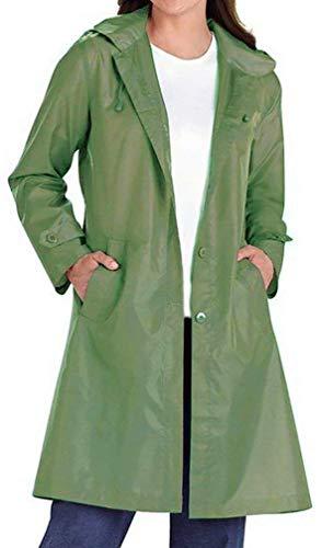 Giacca Giubotto Slim Manica Especial Monocromo Laterali Invernali Inclusa Antivento Bavero Lunga Cintura Cappuccio Button Donna Trench Con Himmelblau Tasche Estilo Fit qBT4t