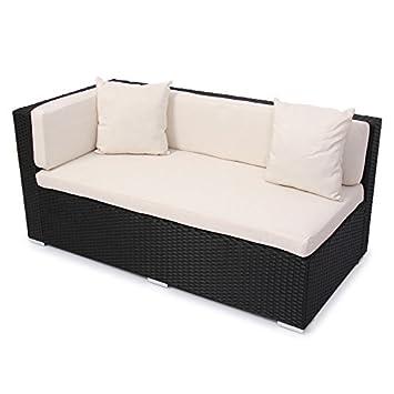 rattan ecksofa balkon. Black Bedroom Furniture Sets. Home Design Ideas
