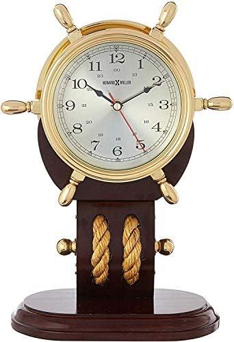 Howard Miller 613-467 Britannia Weather Maritime Table Clock