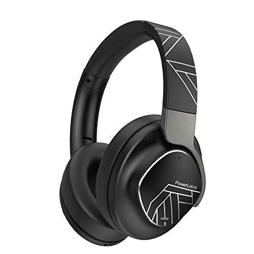 PowerLocus MoonFly Koptelefoon Over-Ear met Passief Noise Cancelling, 70uur accuduur en USB-C opladen, Draadloze…