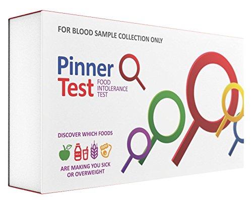 Pinnertest Food Intolerance Test Kit | Reliable & Accurate 200+ Foods Sensitivity Testing Kit | Advanced IgG Antibody Response Microarray Technology | Blood (Sensitivity Test)