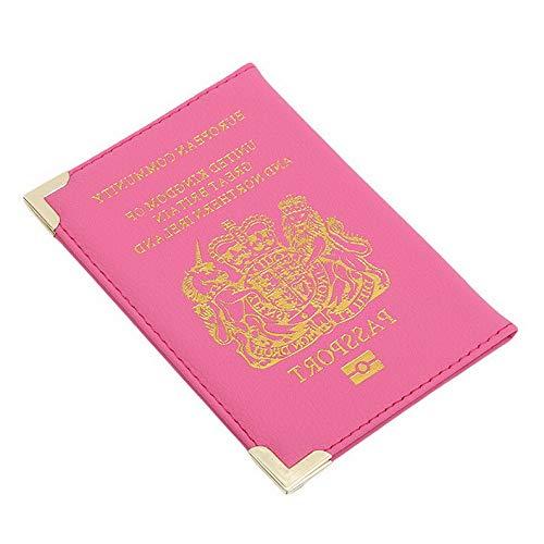 Mikash Portable Travel Metal Corner Style Travel Passport Holder Wallet Card Holder S | Model TRVLWLLT - 711 |