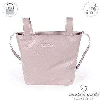 Pasito a pasito 73482 - Bolsa panera, color rosa normandie: Amazon.es: Bebé