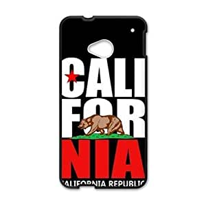 california republic t shirt Phone Case for HTC One M7 by ruishername