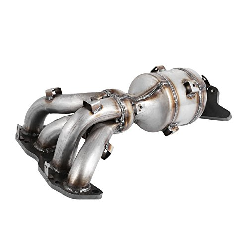 Happybuy Exhaust Manifold Catalytic Converter 2.5L Catalytic Converter Catalytic Converter Manifold for Nissan Altima 2007-2012 with Gaskets and Hardware (Catalytic Conversations)