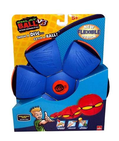 Phlat Ball Goliath Games V3 (Dark Red and Blue)