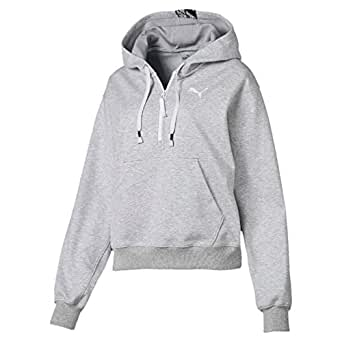 PUMA Women's Feel IT Cover UP, Light Gray Heather, XS