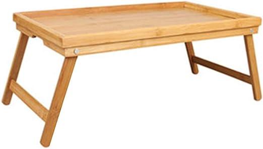 C-Bin1 Bandeja de madera maciza, dormitorio portátil mesa cama ...