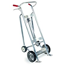 Valley Craft Ezy-Rol 4-Wheel Drum Trucks - Without Brakes - Pneumatic Wheels - Aluminum