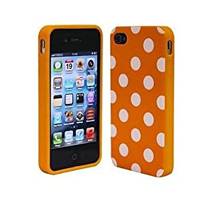 iphone covers Fashion and Lovely Wave Point Design Back Case Cover for Iphone 6 4.7 Orange