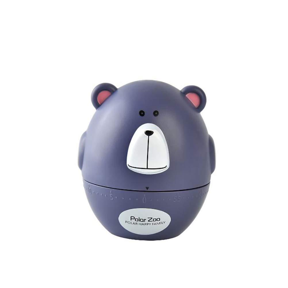 Queta Cartoon Bull Bear Mechanical Timer Kitchen Electronic Timer Loud Countdown Alarm Clock
