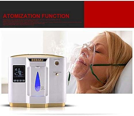 ZYZYX Generadores de oxígeno Concentrador Inteligentes, Ajustable ...