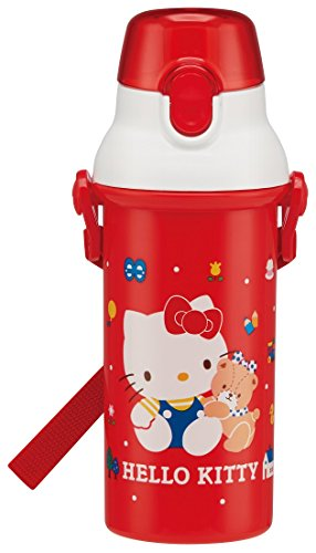 (Skater Sanrio Hello Kitty One Touch Water Bottle 80's PSB5SAN from Japan)