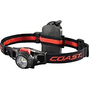 Coast HL7R Rechargeable Focusing 240 Lumen LED Headlamp