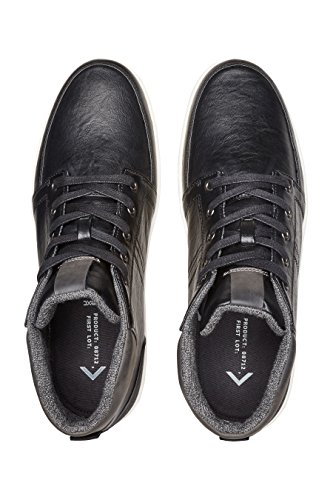 next Herren Mittelhoher Sneaker Turnschuhe Schuhe Freizeit Schwarz