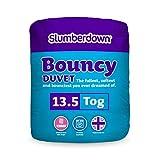 Slumberdown Bouncy Winter Warm 13.5 Tog Duvet, White, Double
