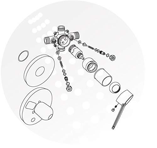 Pulse Showerspas 3001 Riv Pb Ch Tru Temp Mixing Valve Pressure