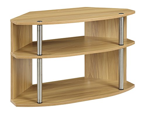 Convenience Concepts Designs2Go Swivel TV Stand, Light Oak