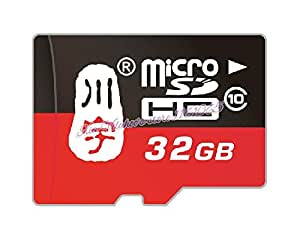 ARBUYSHOP original SD-C032 Micro tarjeta de memoria SDHC Tarjeta de memoria 32GB Clase 10 TF empaquetado al por menor de la capacidad verdadera