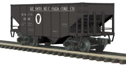 MTH 2-Bay Fish Belly Hopper Car Keystone Coal & Coke