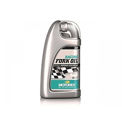 Aceite horquilla/amortiguador Motorex aceite de horquilla Racing fork Oil 4 W 1L: Amazon.es: Coche y moto