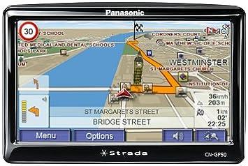 Panasonic CN-GP50N - Navegador GPS con mapas de toda Europa 37 (5 pulgadas): Amazon.es: Electrónica