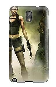 Premium Durable Tomb Raider Underworld Fashion Tpu Galaxy Note 3 Protective Case Cover