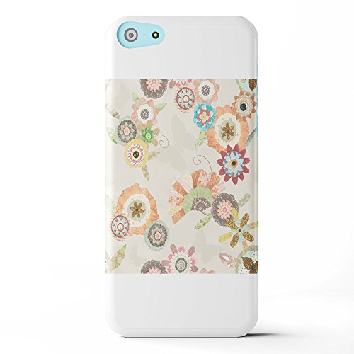 Koveru Back Cover Case for Apple iPhone 5C - Flower Bouquets Butter