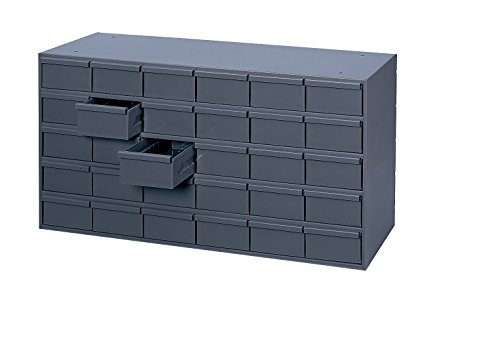 - Durham 035-95 Prime Cold Rolled Steel Cabinet, 30 Drawer, 17-1/4
