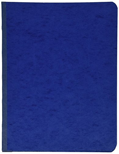 ACCO PRESSTEX Report Cover, Side Bound, Tyvek Reinforced Hinge, 8.5 Inch Centers, 3 Inch Capacity, Letter Size
