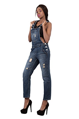 Lustychic Jeans Blue Lustychic Donna Jeans Dungaree q0wSx5