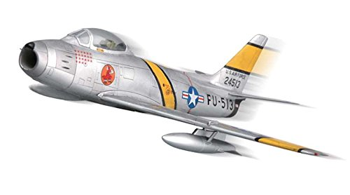 Squadron Products F-86F-30 Sabre Pre-Painted Quick Kit Model, Silver (North Sabre American F-86f)