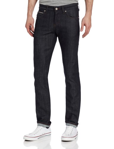 Naked & Famous Denim Men's SuperSkinnyGuy Jean In Stretch Selvedge, Stretch Selvedge, 30x35