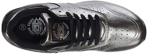 Bass3d Zapatillas plata Para Mujer 41570 Plateado rCxrgYn